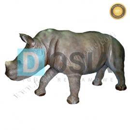 ZW33 - Nosorożec figura reklamowa,dekoracyjna