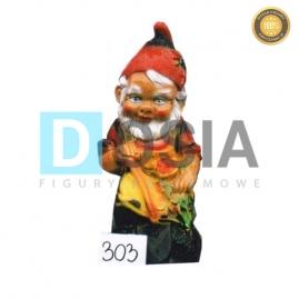 303 - Figura dekoracyjna - Krasnal 40 cm