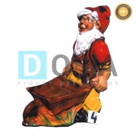 4 - Figura dekoracyjna - Krasnal 76 cm