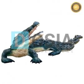 ZW19 - Krokodyl figura reklamowa,dekoracyjna