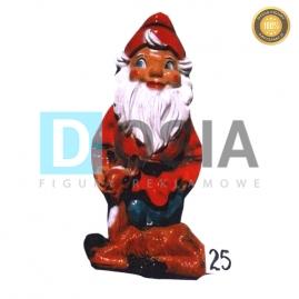 25 - Figura dekoracyjna - Krasnal 7 cm