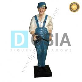 RR39 - Pompiarz figura reklamowa, dekoracyjna