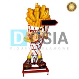 FT15 - Frytki figura reklamowe-dekoracyjna