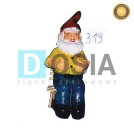 319 - Figura dekoracyjna - Krasnal 92 cm