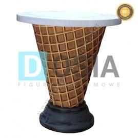LD40 -Stolik figura reklamowa, dekoracyjna