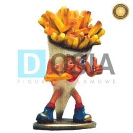 FT14 - Frytki figura reklamowe-dekoracyjna