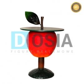 OW22 - Jabłko - stolik figura reklamowa-dekoracyjna