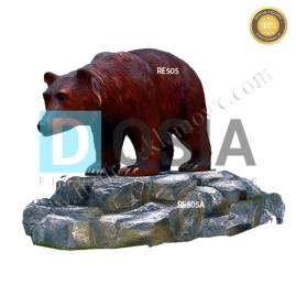 FZ79 - Niedźwiedź figura reklamowa, dekoracyjna
