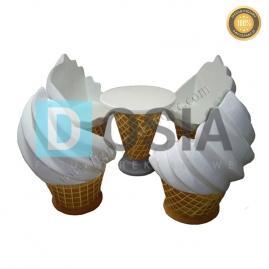 LD51 - Zestaw lodowy figura reklamowa, dekoracyjna