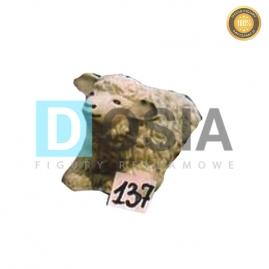 137 - Figura dekoracyjna - Zwierzęta 23 cm