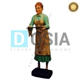 KL03 - Babcia Kelner figura reklamowa-dekoracyjna