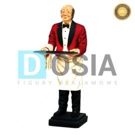 KL01 - Kelner figura reklamowa-dekoracyjna