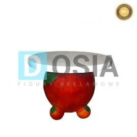 OW27 - Jabłko - stolik  figura reklamowa-dekoracyjna