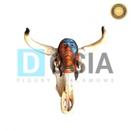 CI04 - Głowa indiania figura reklamowa-dekoracyjna