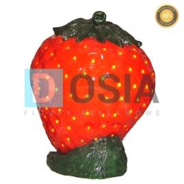 OW32 - Truskawka - figura reklamowa-dekoracyjna