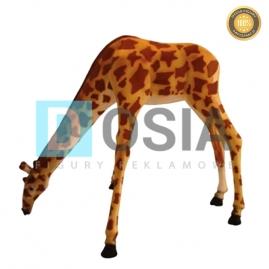 ZW15 - Żyrafa figura reklamowa,dekoracyjna