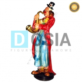 RR31 - Clown figura reklamowa, dekoracyjna