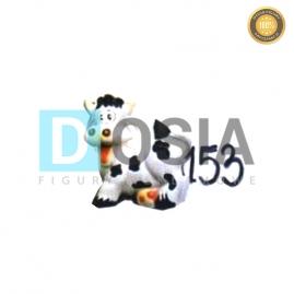 153 - Figura dekoracyjna - Zwierzęta 11 cm