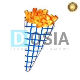 FT22 - Frytki figura reklamowe-dekoracyjna