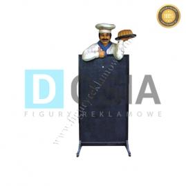KC23 - Kucharz figura reklamowa, dekoracyjna