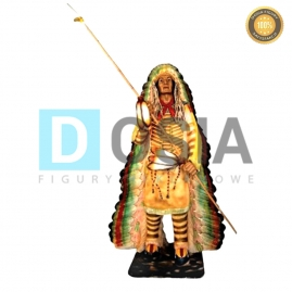 CI03 - Indianin figura reklamowa-dekoracyjna