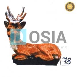78 - Figura dekoracyjna - Zwierzęta 46 cm