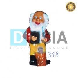 318 - Figura dekoracyjna - Krasnal 31 cm