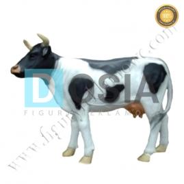 FZ37 - Krowa średnia figura reklamowa, dekoracyjna