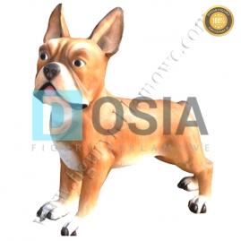 FZ38 - Pies figura reklamowa, dekoracyjna