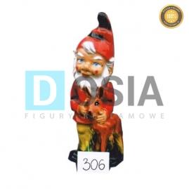 306 - Figura dekoracyjna - Krasnal 40 cm