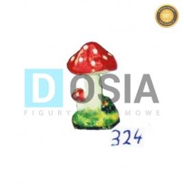 324 - Figura dekoracyjna - Różne 34 cm