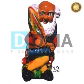 32 - Figura dekoracyjna - Krasnal 75 cm
