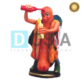 FF14 - Hot-Dog figura reklamowa,dekoracyjna