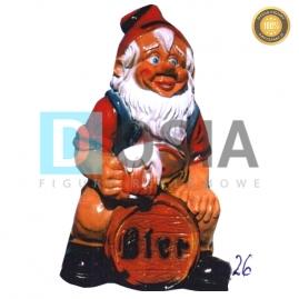 26 - Figura dekoracyjna - Krasnal 66 cm