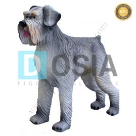 FZ74 - Pies figura reklamowa, dekoracyjna