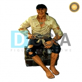 PR03 - Pirat figura reklamowa-dekoracyjna