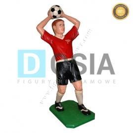 SR04 - Piłkarz figura reklamowa-dekoracyjna