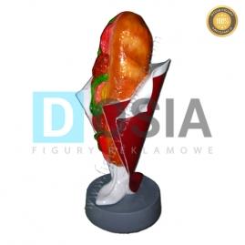FF07 - Kanapka figura reklamowa,dekoracyjna