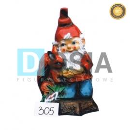 305 - Figura dekoracyjna - Krasnal 40 cm