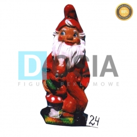 24 - Figura dekoracyjna - Krasnal 75 cm