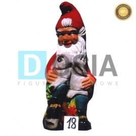18 - Figura dekoracyjna - Krasnal 76 cm