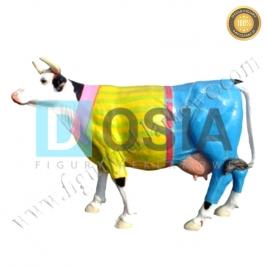 FZ20 - Krowa figura reklamowa,dekoracyjna