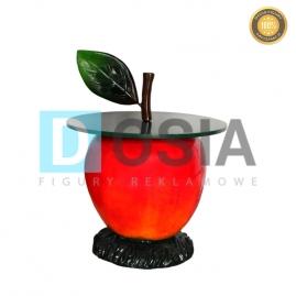 OW21 - Jabłko - stoli figura reklamowa-dekoracyjna