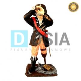 PR02 - Pirat z lunetą figura reklamowa-dekoracyjna