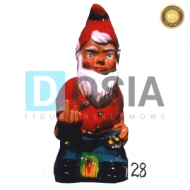 28 - Figura dekoracyjna - Krasnal 80 cm