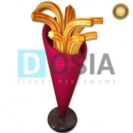 FT02 - Frytki figura reklamowe-dekoracyjna