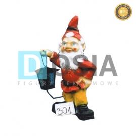 301 - Figura dekoracyjna - Krasnal 40 cm
