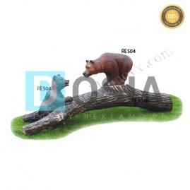 FZ78 - Niedźwiedź figura reklamowa, dekoracyjna