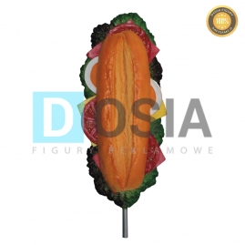 FF04 - Hot-dog figura reklamowa-dekoracyjna