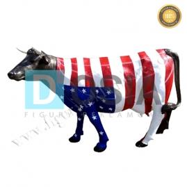 FZ21 - Krowa figura reklamowa,dekoracyjna